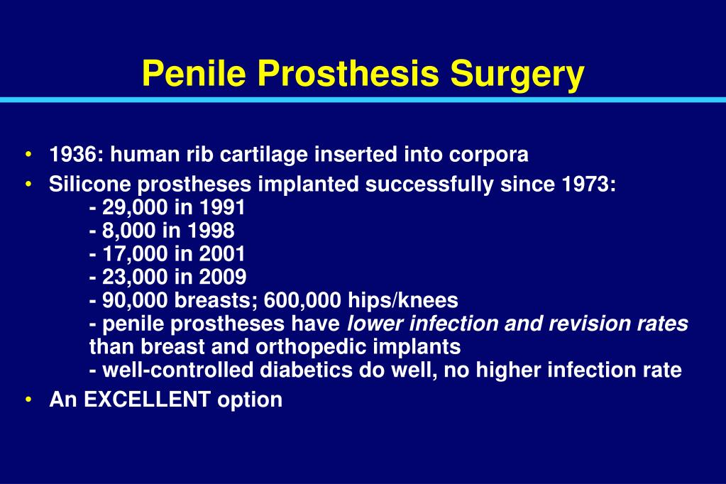 Penile Prosthesis Surgery