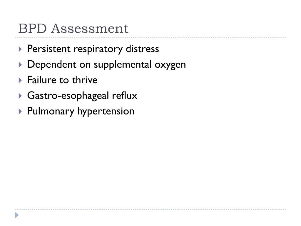 BPD Assessment