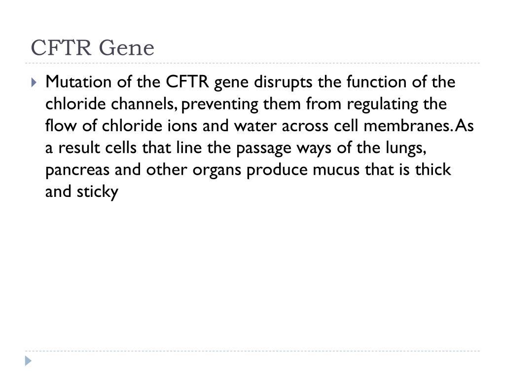 CFTR Gene