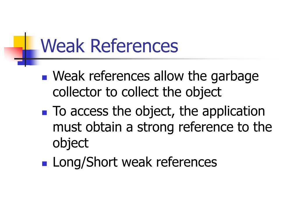Weak References