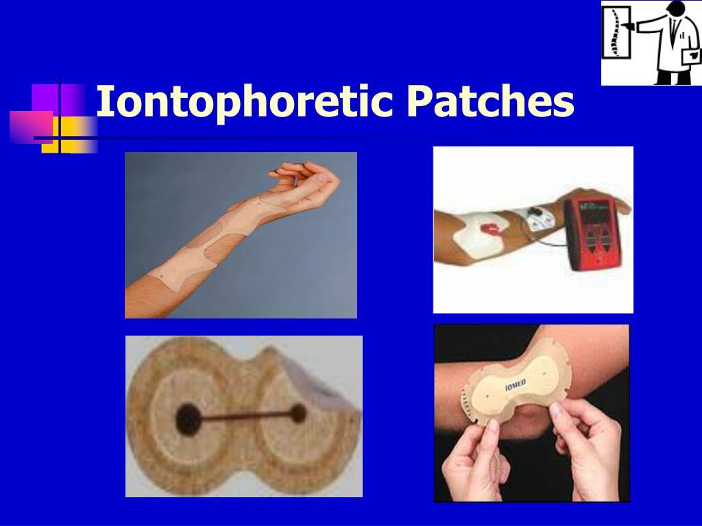 Iontophoretic Patches