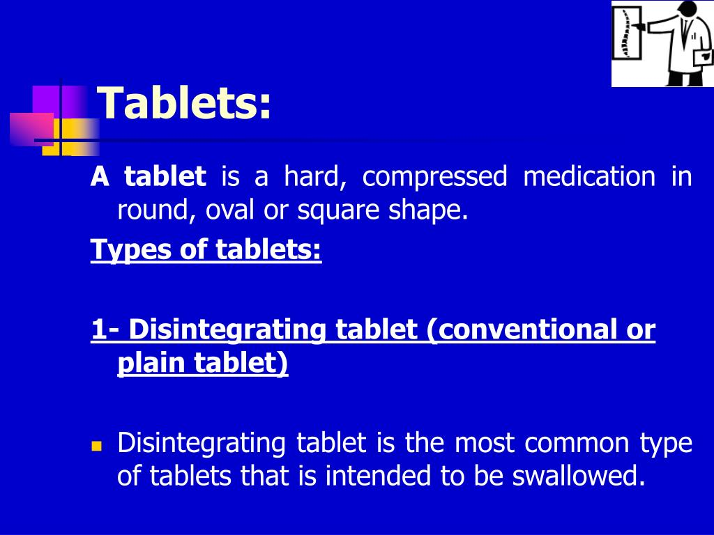 Tablets: