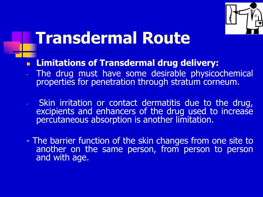 Transdermal Route