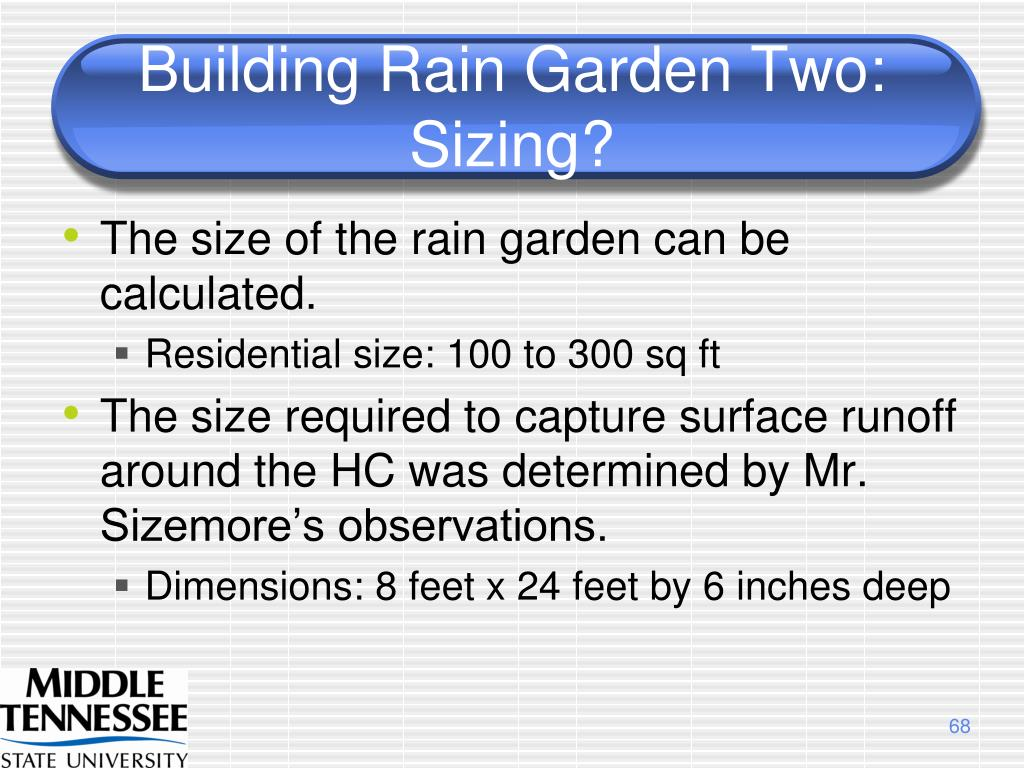 Building Rain Garden Two: