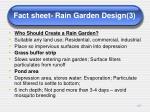 fact sheet rain garden design 3