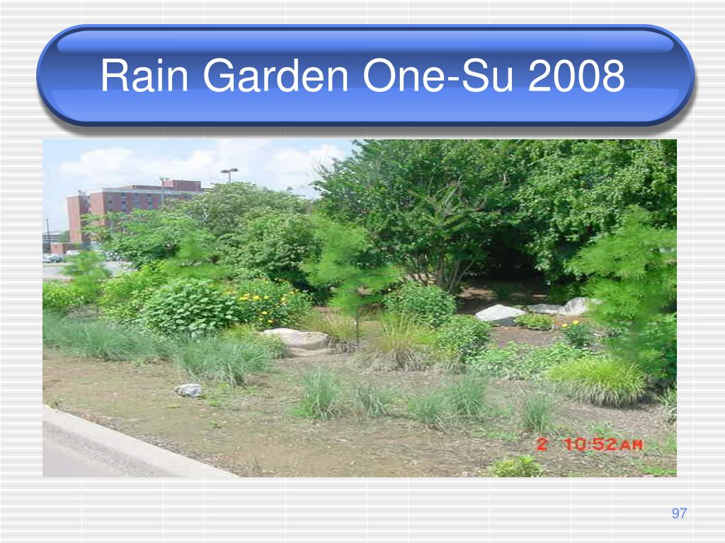 Rain Garden One-Su 2008