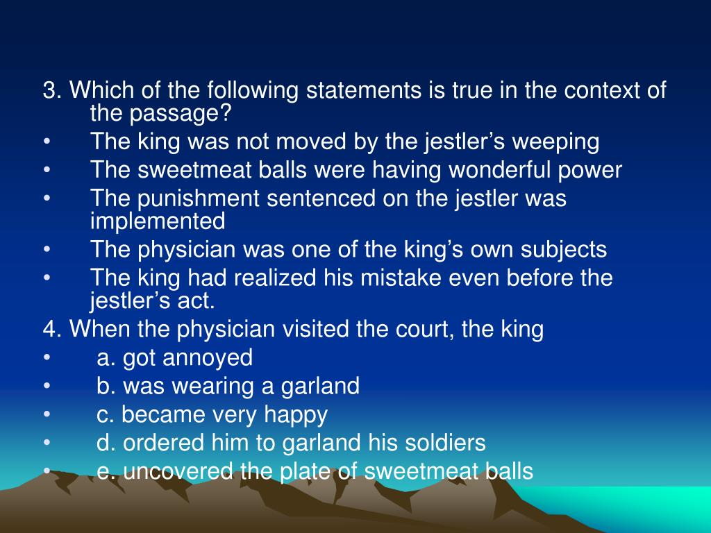 3. Which of the following statements is true in the context of the passage?