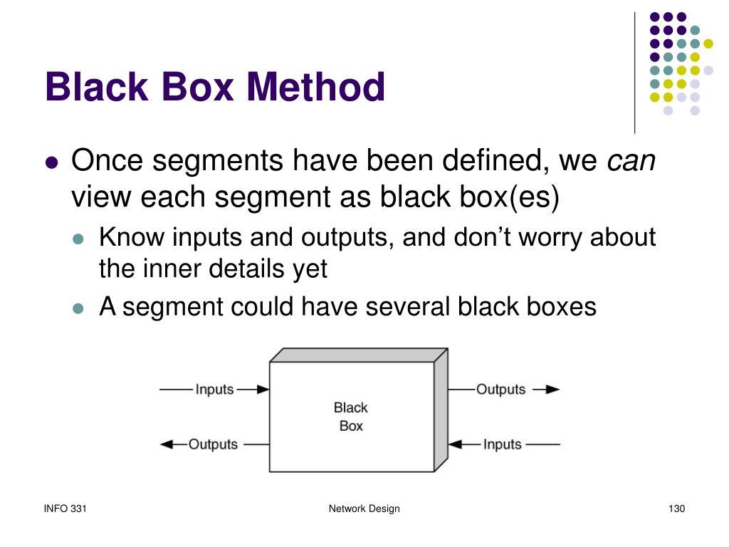 Black Box Method