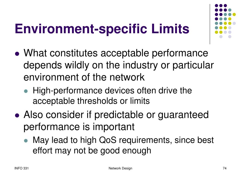 Environment-specific Limits