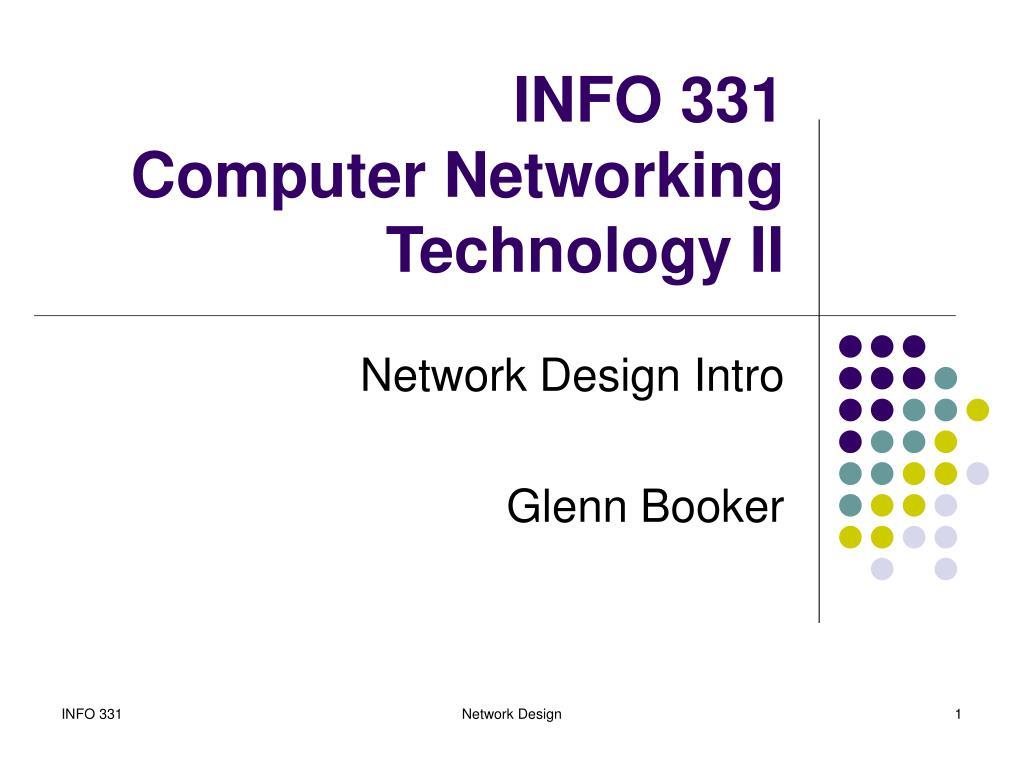 INFO 331