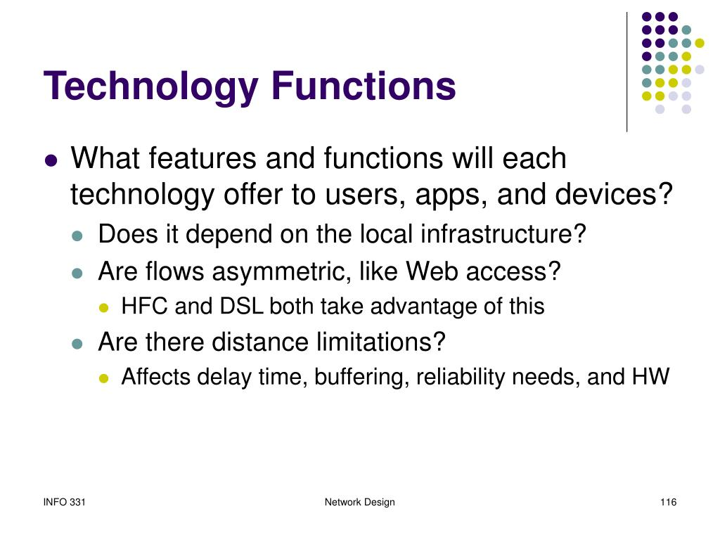 Technology Functions