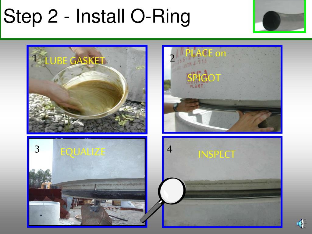 Step 2 - Install O-Ring