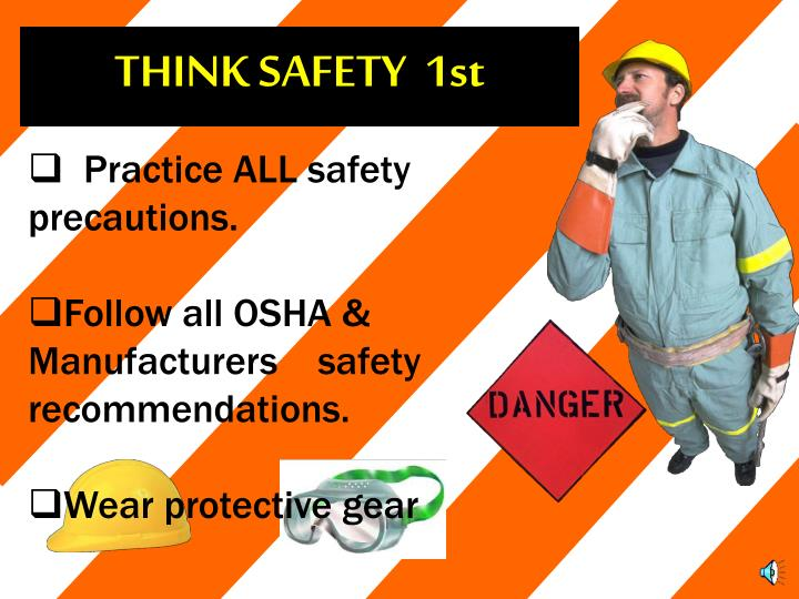 THINK SAFETY  1st