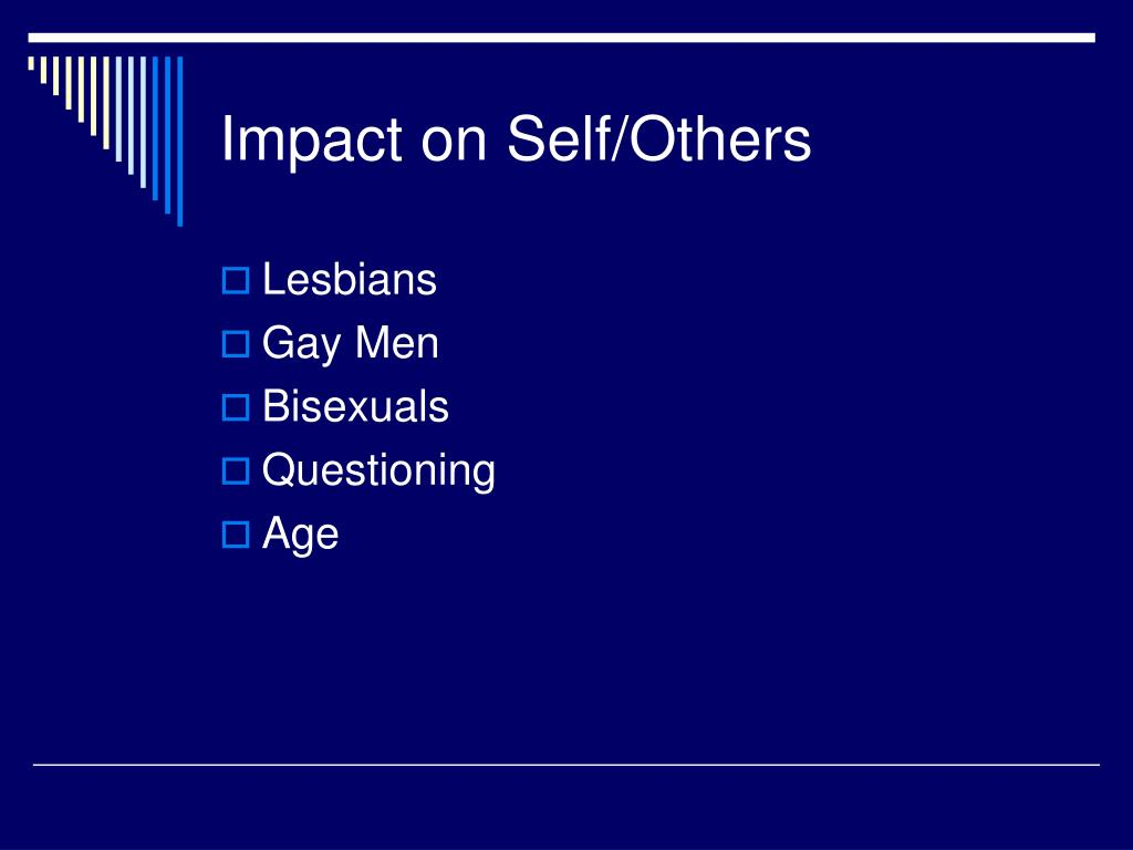 Impact on Self/Others