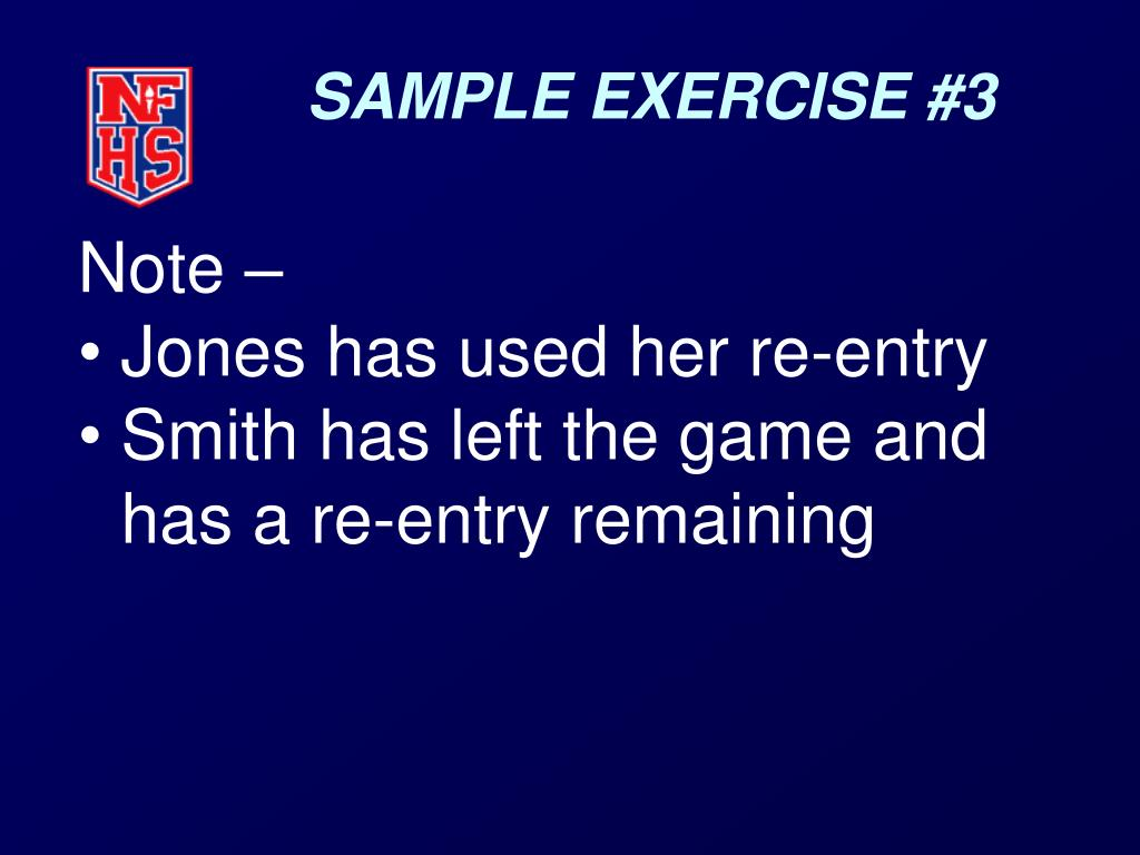 SAMPLE EXERCISE #3