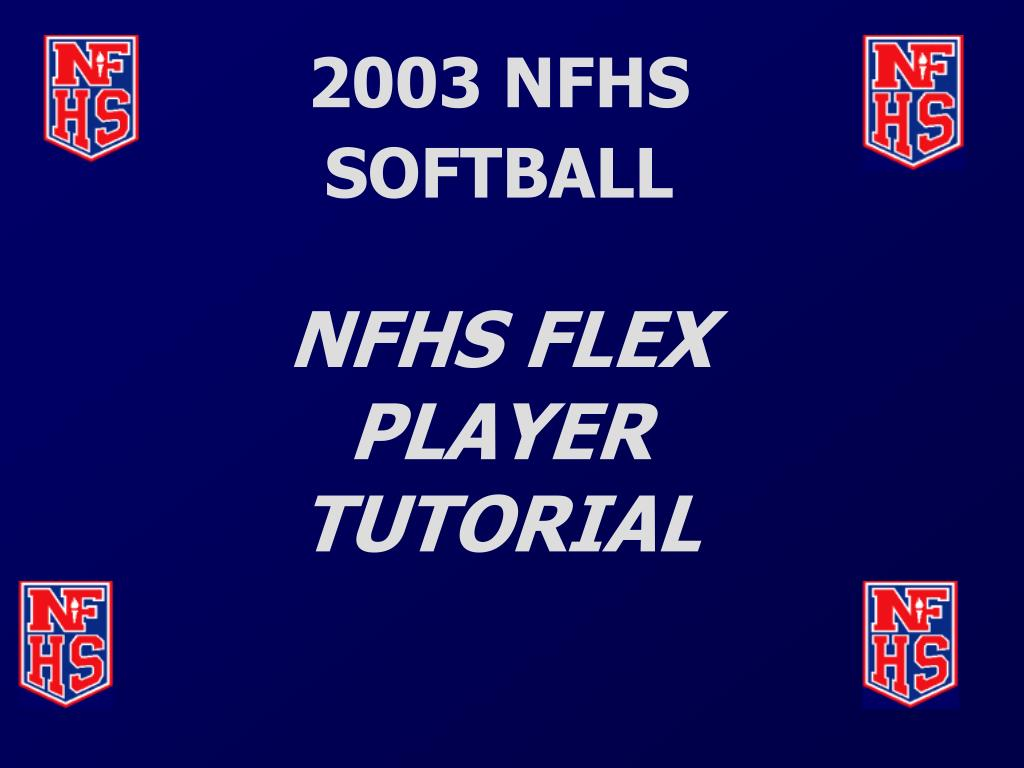 2003 NFHS SOFTBALL