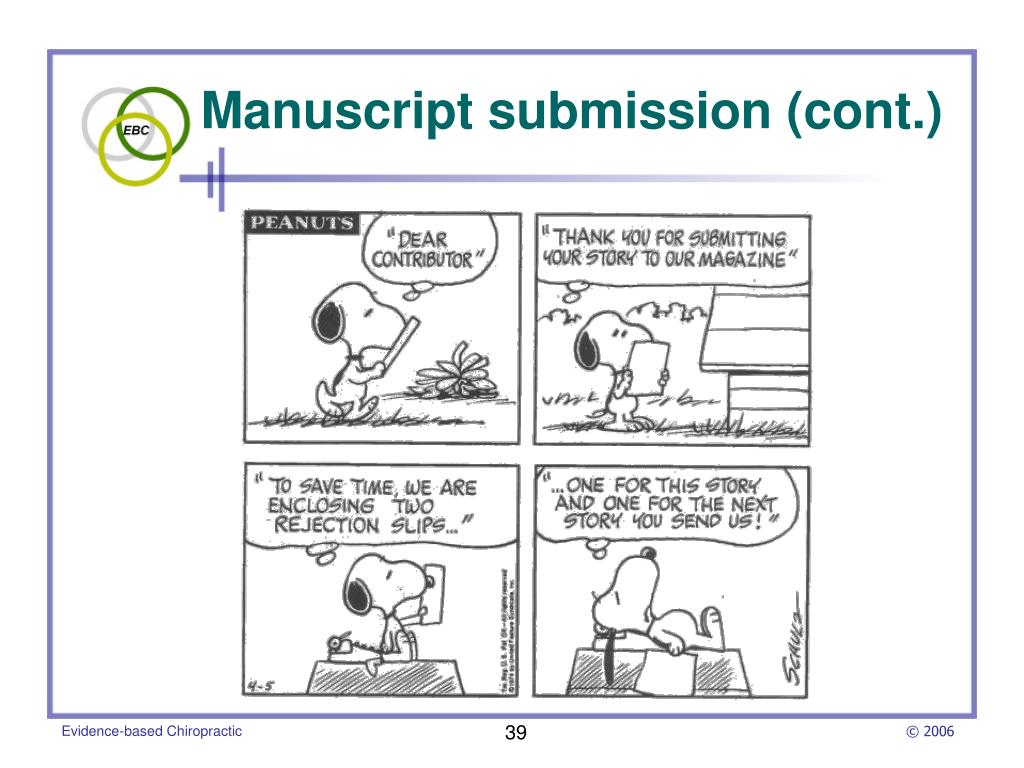 Manuscript submission (cont.)