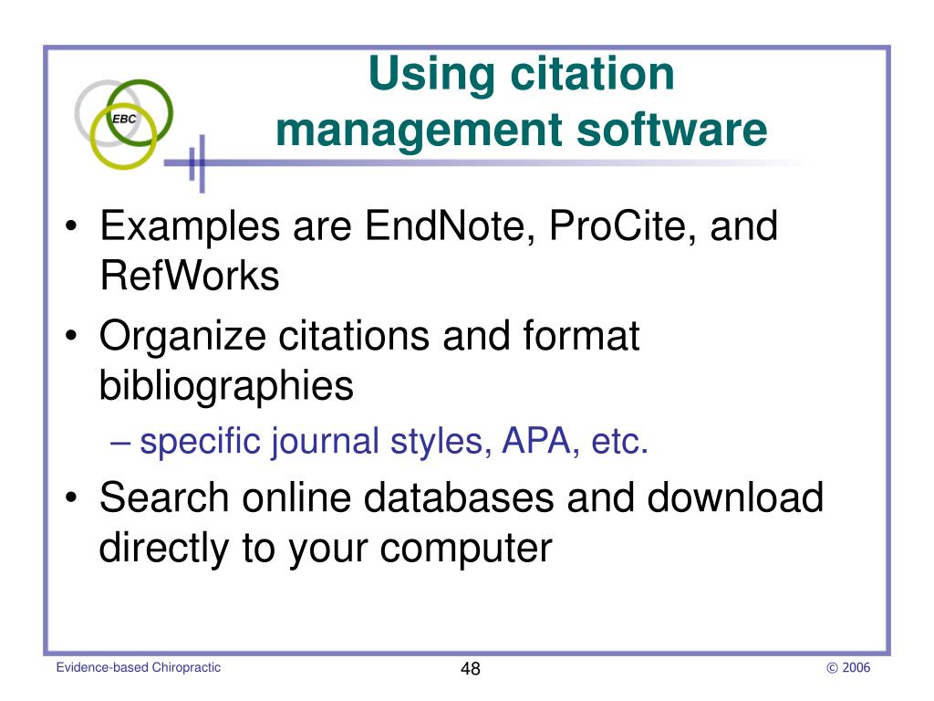 Using citation