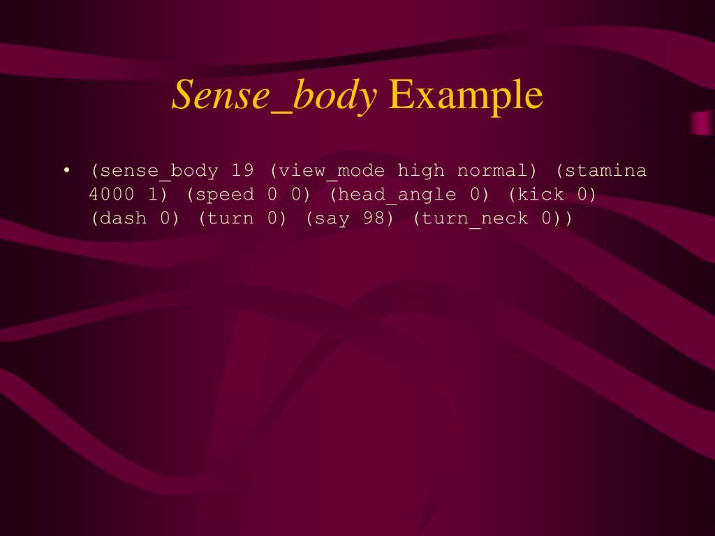 Sense_body