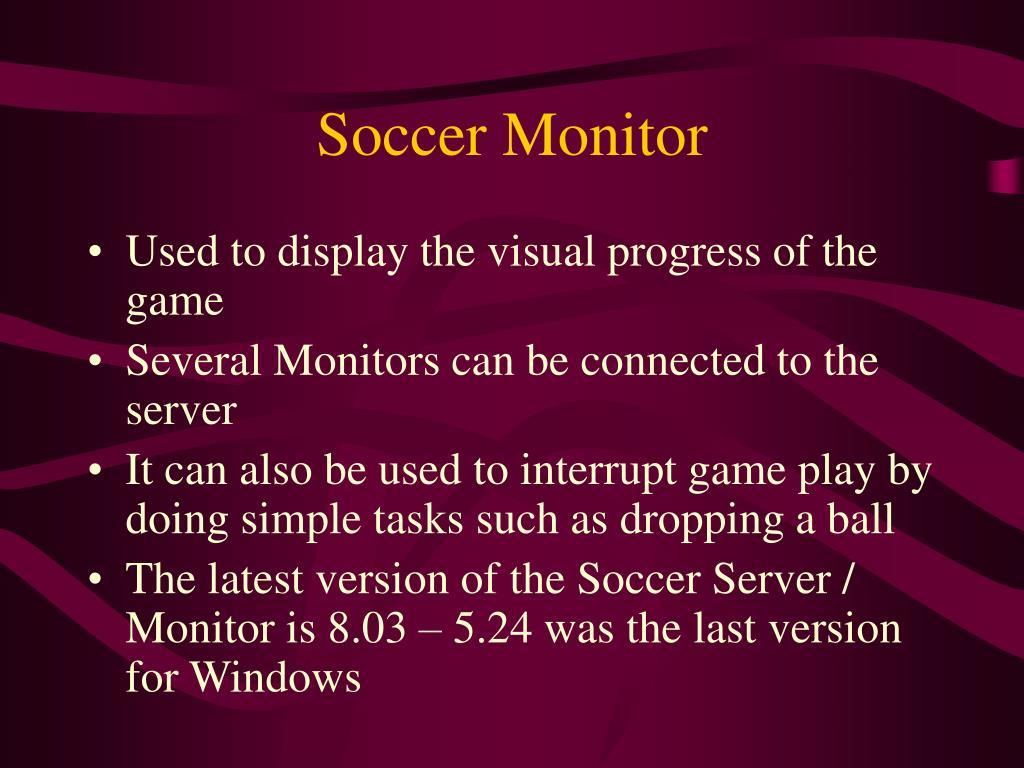 Soccer Monitor