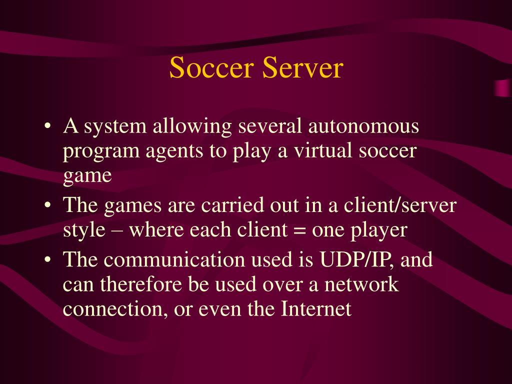 Soccer Server