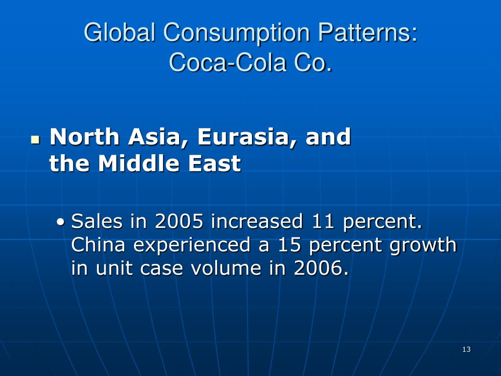 Global Consumption Patterns: