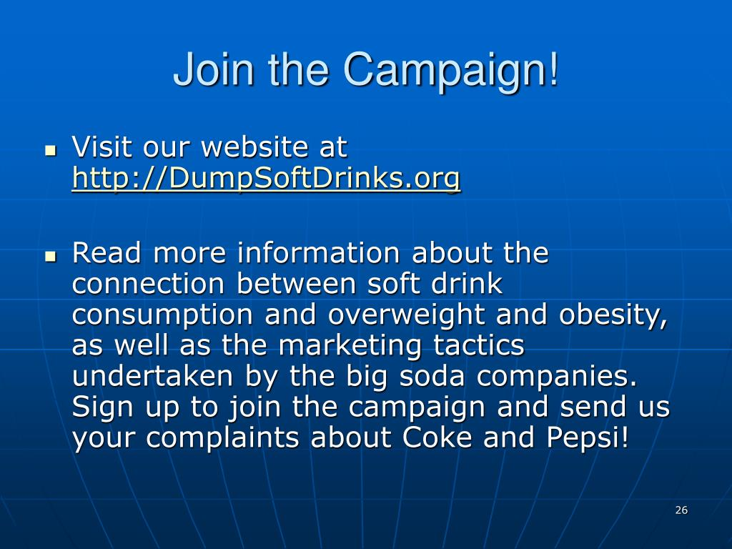 Join the Campaign!