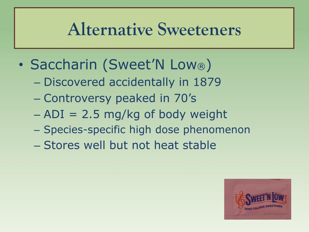 Alternative Sweeteners