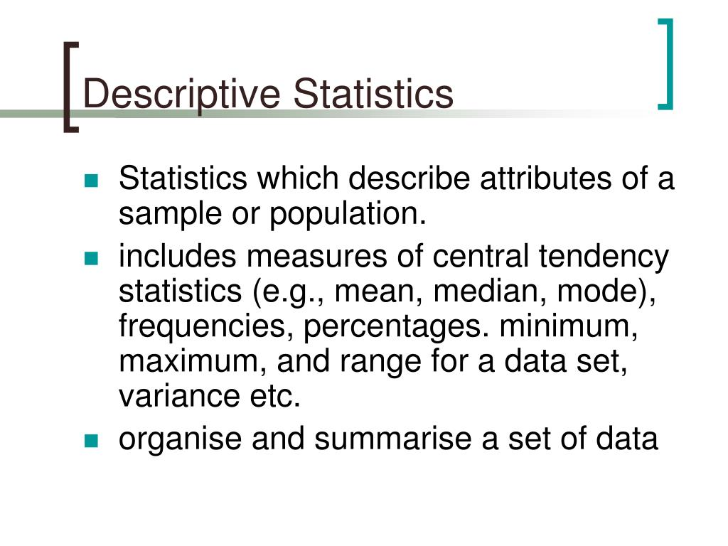 descriptive stastics A javascript that computes expected value, variance, standard deviation, skewness , kurtosis, and coefficient of variation.