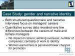 case study gender and narrative identity14