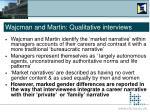 wajcman and martin qualitative interviews17