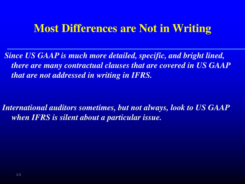 Most Differences are Not in Writing