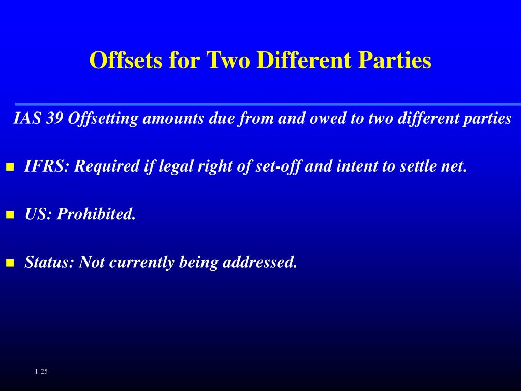 Offsets for Two Different Parties