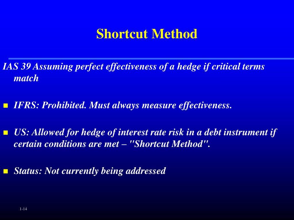 Shortcut Method