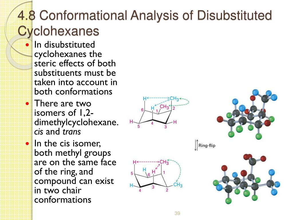 4.8 Conformational Analysis of