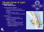 florida power light infrastructure pole inspections