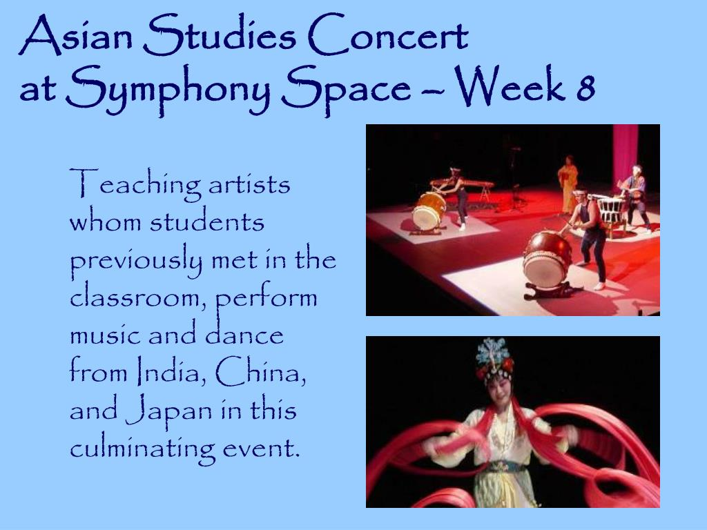 Asian Studies Concert