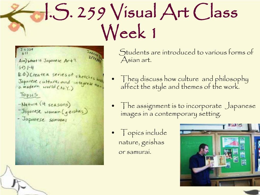 I.S. 259 Visual Art Class