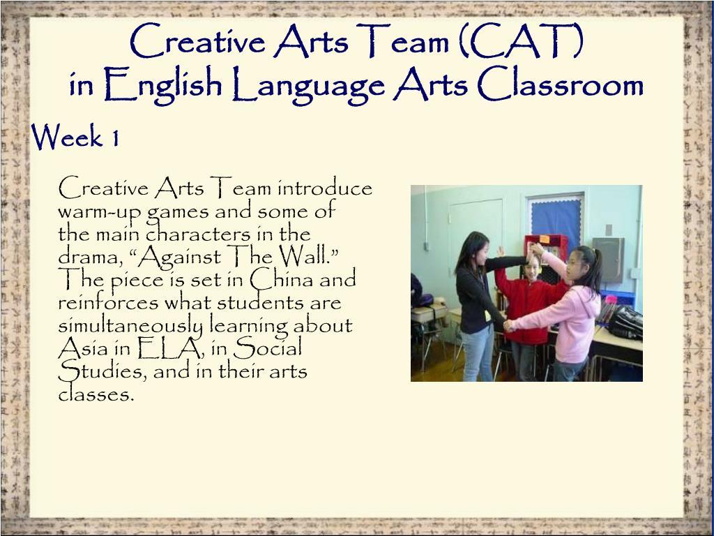 Creative Arts Team (CAT)