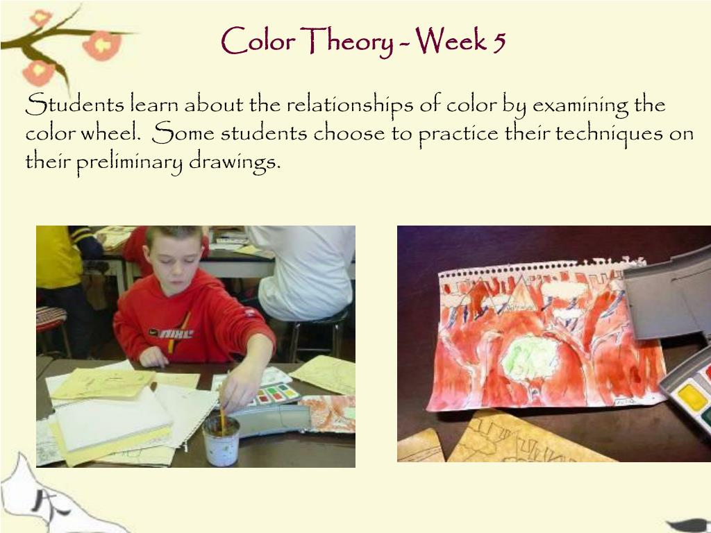 Color Theory - Week 5