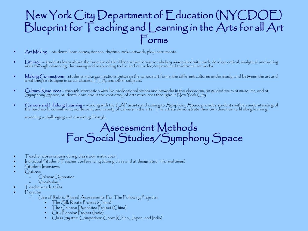 New York City Department of Education (NYCDOE)
