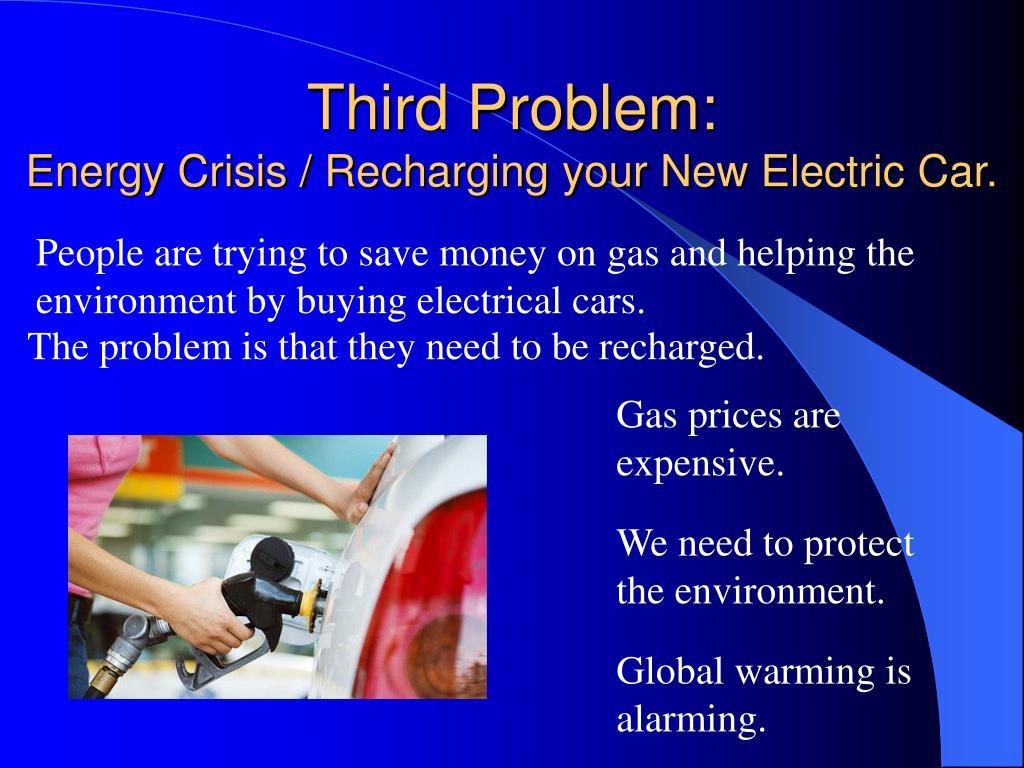 Third Problem: