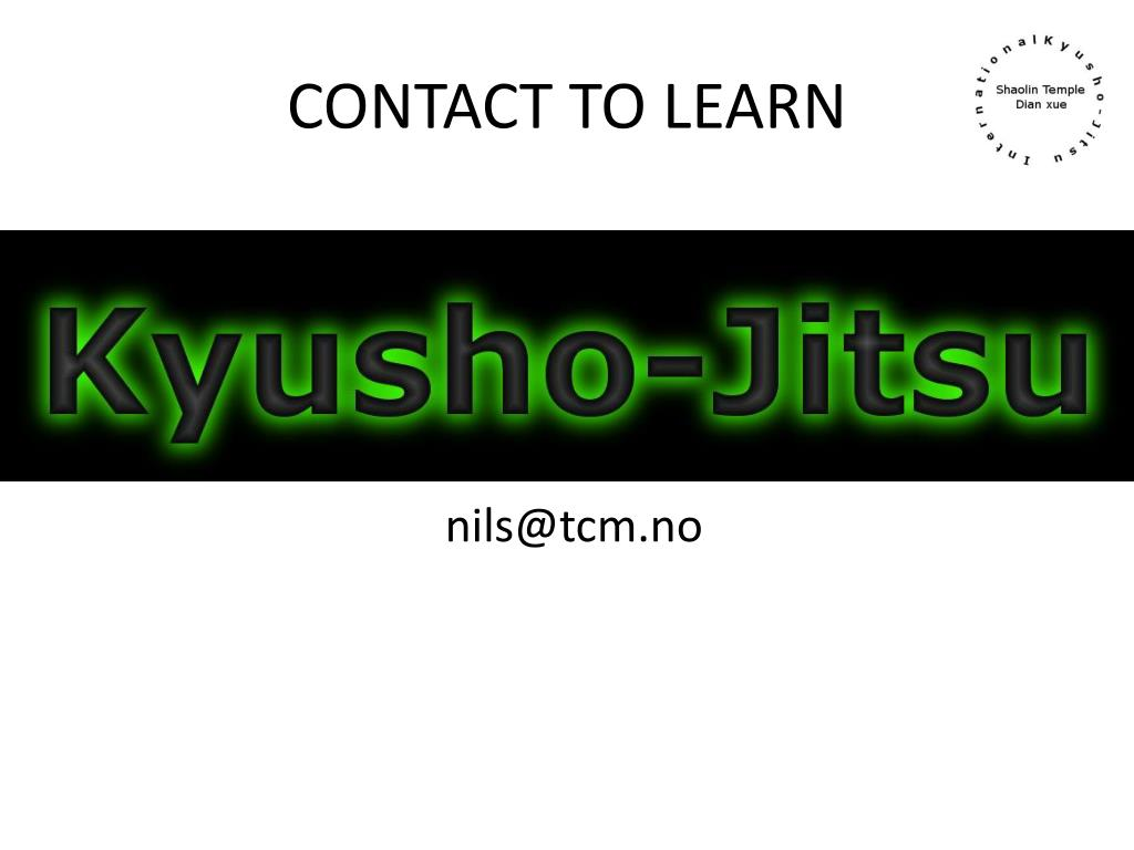 CONTACT TO LEARN