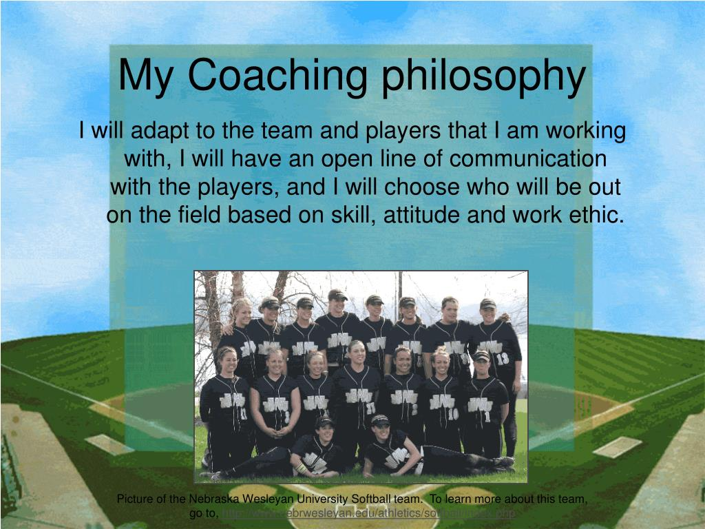 My Coaching philosophy