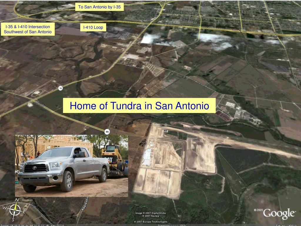 To San Antonio by I-35