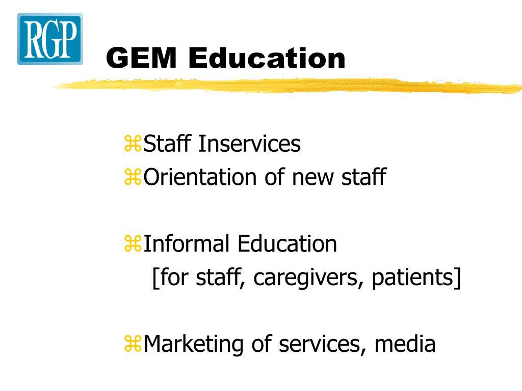 GEM Education