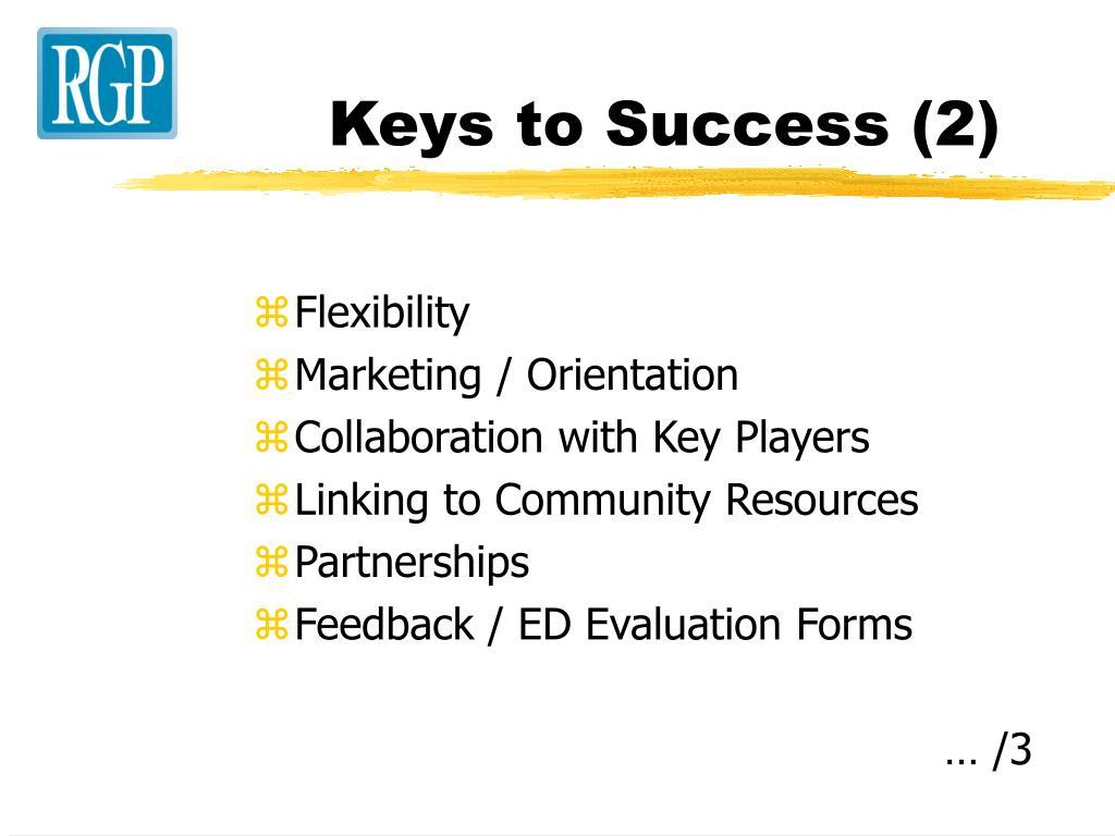 Keys to Success (2)
