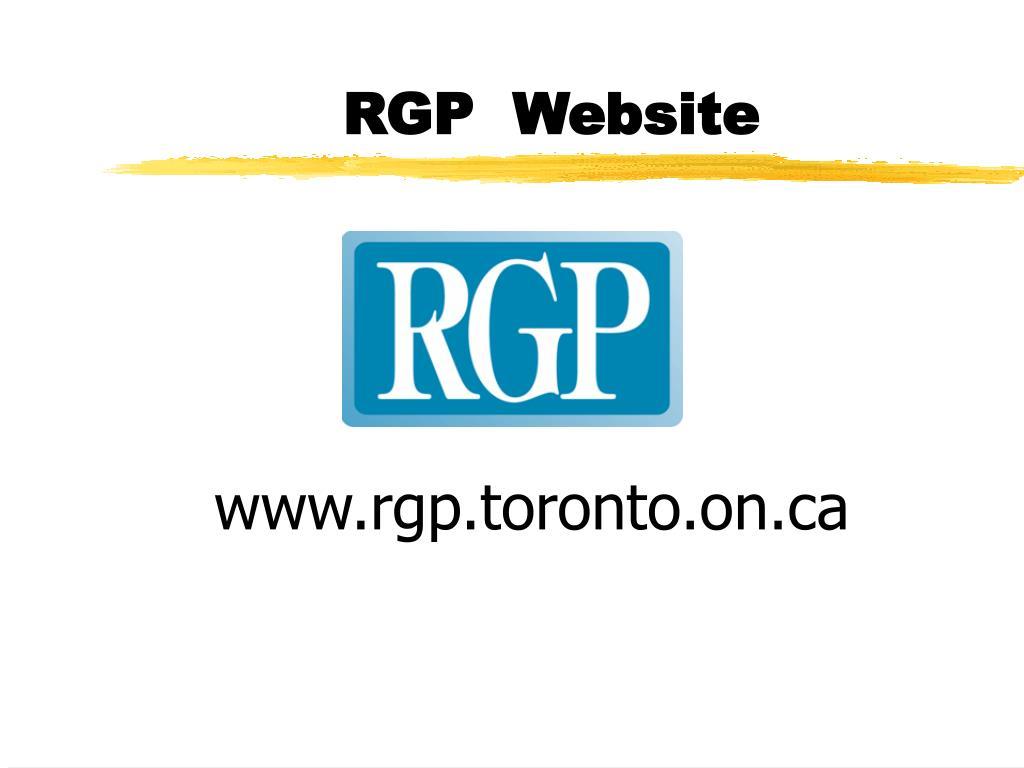 RGP  Website