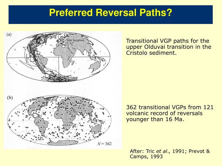 Preferred Reversal Paths?