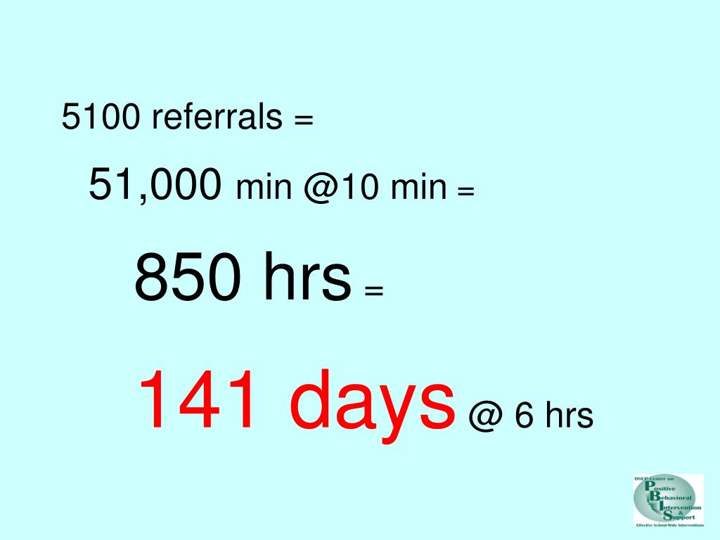 5100 referrals =